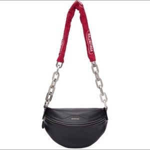 Balenciaga Souvenir Bike Chain Crossbody  Bag